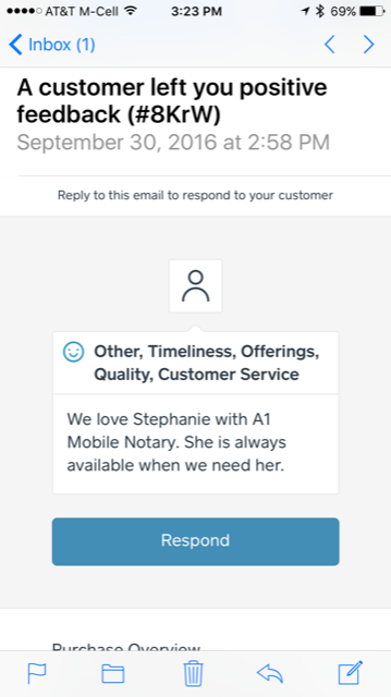 Lake Charles A1 Mobile Notary review